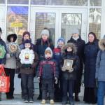 Детская воскресная школа поздравила пациентов городской больницы г.Фрязино с Рождеством Христовым