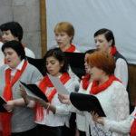 концерт хора храма Рождества Христова и детского хора воскресной школы