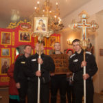 Литургия в Крестовоздвиженском храме СИЗО №1 «Матросская Тишина»