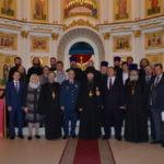 освящение иконостаса Покровского храма Бутырского тюремного замка