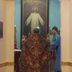 в Покровском храме Бутырского замка была совершена Юбилейная Божественная Литургия