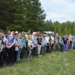 II военно-патриотический  слет учеников школы №1 города Фрязино