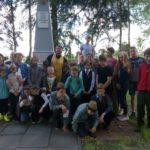 воспитанники Воскресной школы приняли участие в мероприятии, посвященном Дню памяти и скорби