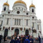 воспитанники Воскресной школы приняли участие в Патриаршем Богослужении.