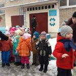 В период Святок протоиерей Сергий Киселев посетил детские сады №7 и №11 и поздравил детей, педагогов и родителей с Праздником Рождества Христова!