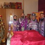 праздничная Божественная Литургия в Крестовоздвиженском храме СИЗО-1 «Матросская Тишина».
