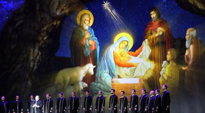 24 января 2019 года хор Валаамского монастыря посетил храм Рождества Христова в Наукограде Фрязино