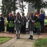 09 мая 2019 года воспитанники Воскресной школы поздравили с Великой Победой жителей д. Мишнево