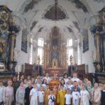 20 августа 2019 года группа православного лагеря в Лейзане посетила перевал Сен-Готтард в г. Андерматте