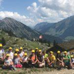 30 августа 2019 года завершилась лагерная смена в Швейцарских Альпах