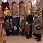 11 января 2020 года протоиерей Сергий Киселев встретился с членами многодетных семей детского сада №11 г. Фрязино