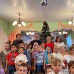 14 января 2020 года протоиерей Сергий Киселев поздравил детей дошкольного образовательного учреждения комбинированного вида №7 с праздником Рождества Христова