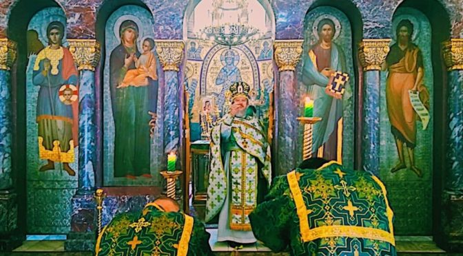 08 июня 2020 года Праздник Троицы Живоначальной