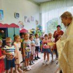 19 августа 2020 года протоиерей Сергий Киселев освятил детский сад комбинированного вида №7 г. Фрязино