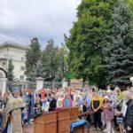 30 августа 2020 года в храме Рождества Христова после Божественной Литургии был совершен молебен для отроков перед началом учебного года