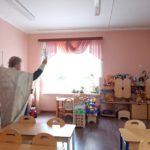 23 августа 2020 года протоиерей Сергий Киселев освятил детский сад комбинированного вида №12 г. Фрязино