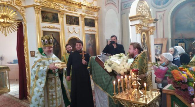 08 октября 2020 года Престольные торжества в храме свт. Николая Мирликийского в с. Здехово