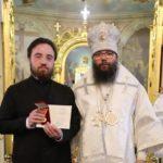 24 апреля 2021 года архиепископ Егорьевский Матфей управляющий Северо-Восточным и Юго-Восточным викариатствами наградил Патриаршей медалью нашего алтарника Бориса