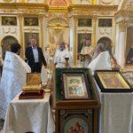 13 июня 2021 года начальник УФСИН России по г. Москве Мороз С.А. посетил храм свт. Николая Мирликийского в Здехово