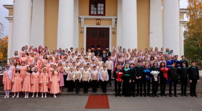 С 28 по 30 сентября 2021 года в Республике Карелия проходил III Международный православный детско-юношеский хоровой Фестиваль «Юные голоса Онего»